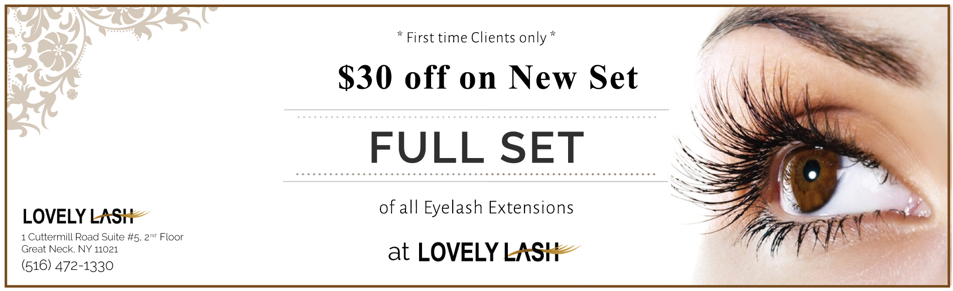 Lovely Lash Coupon Great Neck NY